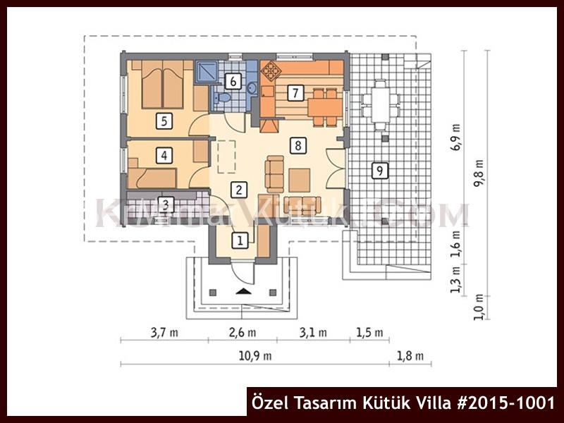 Özel Tasarım Kütük Villa #2015-1001