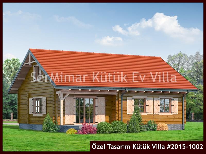 Özel Tasarım Kütük Villa #2015-1002