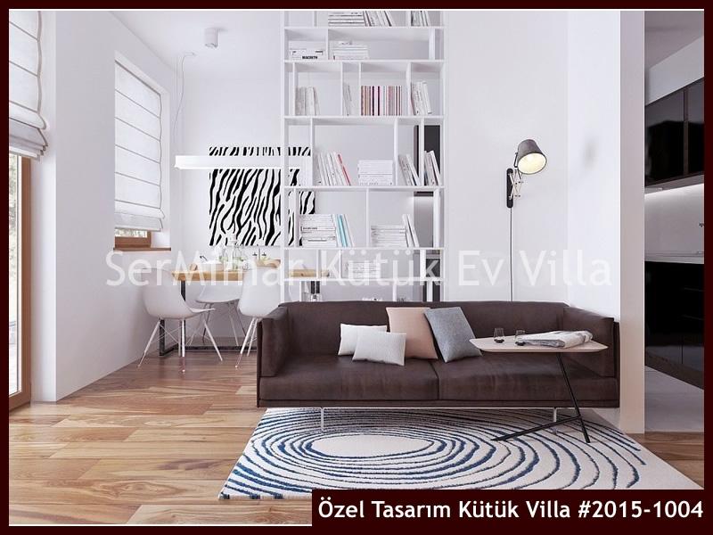 Özel Tasarım Kütük Villa #2015-1004