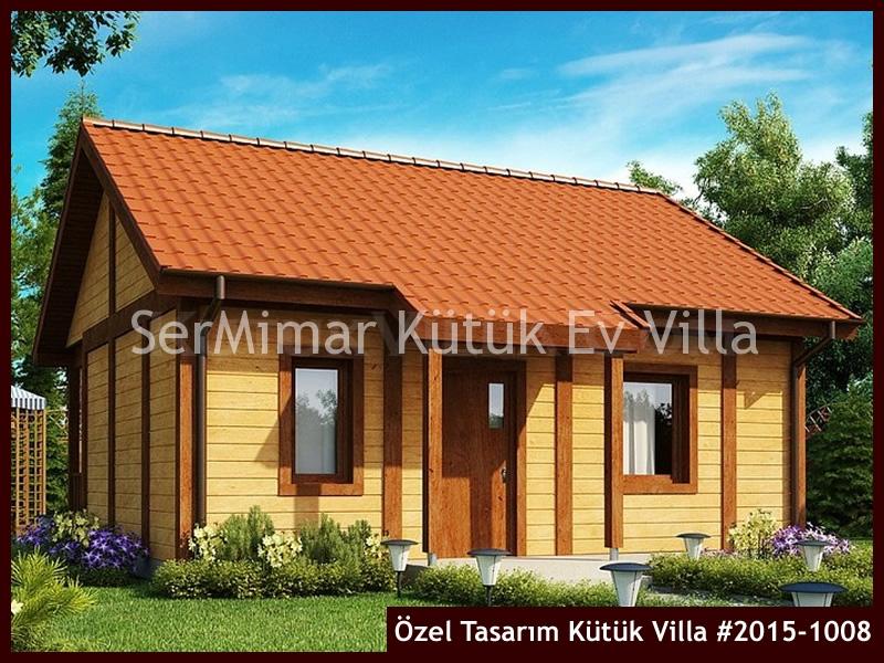Özel Tasarım Kütük Villa #2015-1008