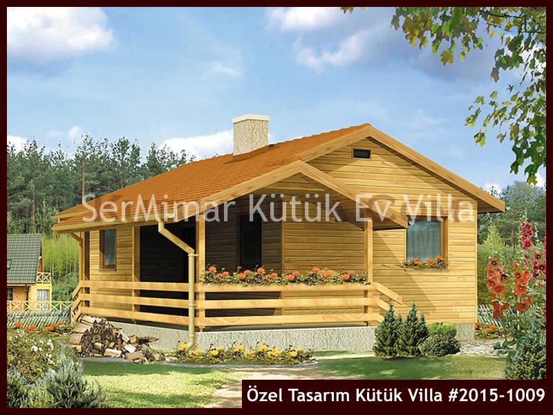 Özel Tasarım Kütük Villa #2015-1009