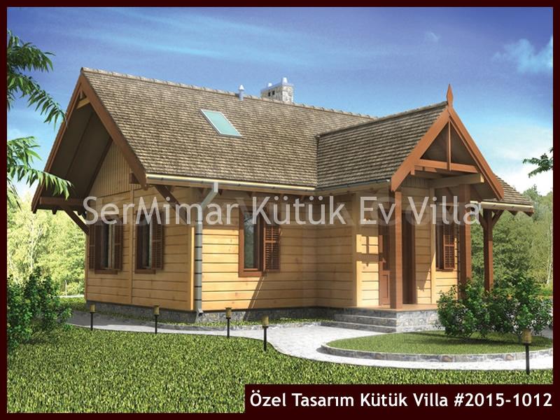 Özel Tasarım Kütük Villa #2015-1012