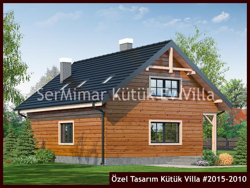 Özel Tasarım Kütük Villa #2015-2010