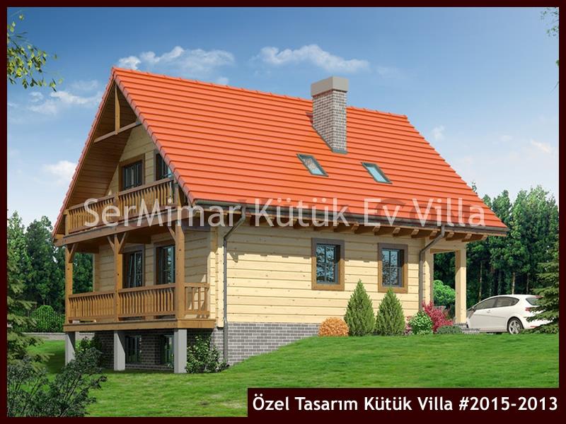 Özel Tasarım Kütük Villa #2015-2013