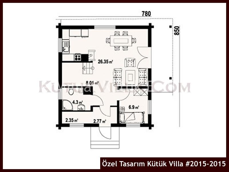 Özel Tasarım Kütük Villa #2015-2015