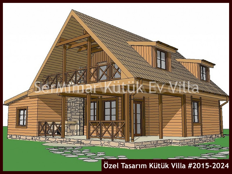 Özel Tasarım Kütük Villa #2015-2024