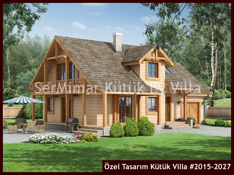 Özel Tasarım Kütük Villa #2015-2027