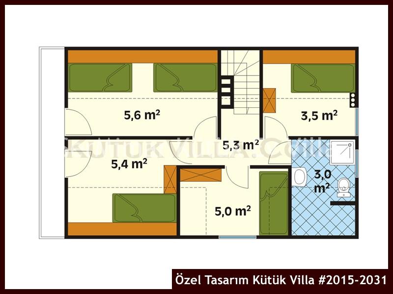 Özel Tasarım Kütük Villa #2015-2031