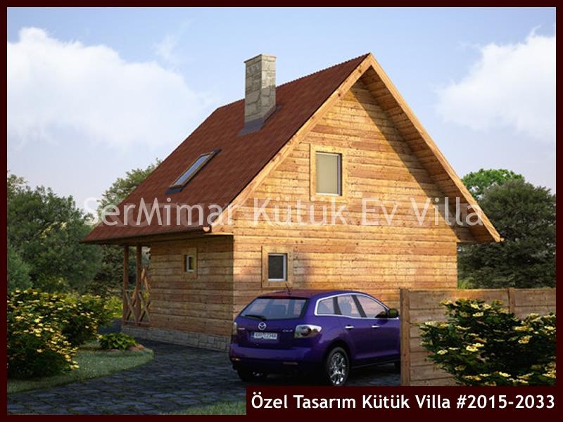 Özel Tasarım Kütük Villa #2015-2033