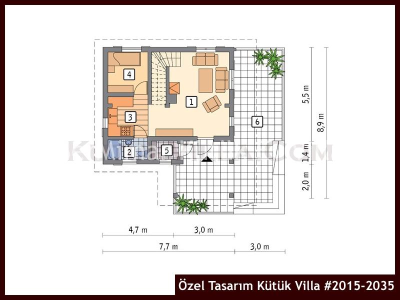 Özel Tasarım Kütük Villa #2015-2035
