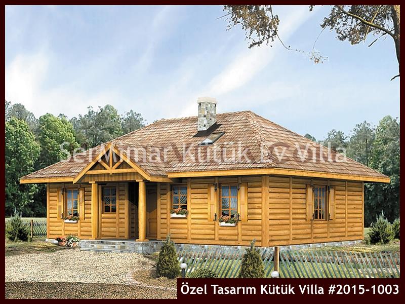 Özel Tasarım Kütük Villa #2015-1003