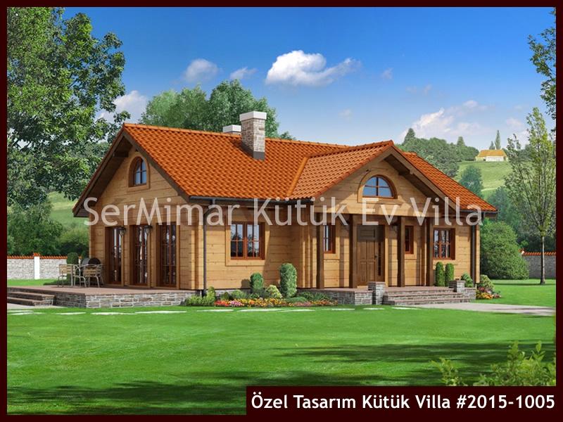 Özel Tasarım Kütük Villa #2015-1005