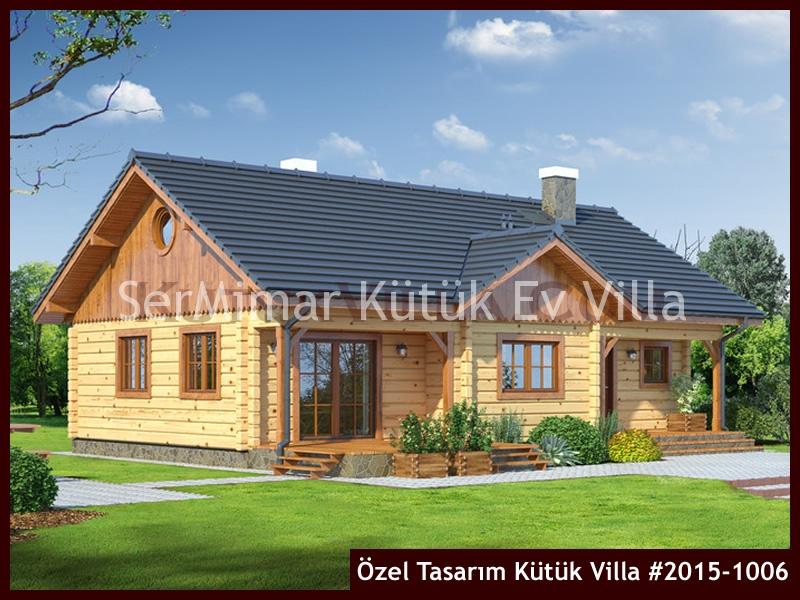 Özel Tasarım Kütük Villa #2015-1006