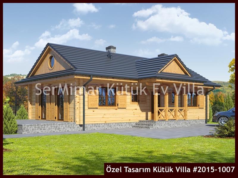Özel Tasarım Kütük Villa #2015-1007