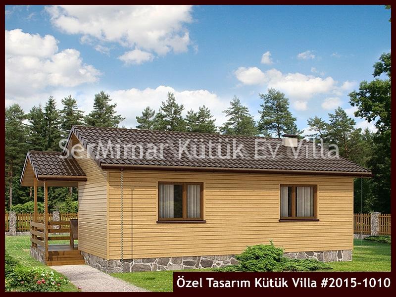 Özel Tasarım Kütük Villa #2015-1010