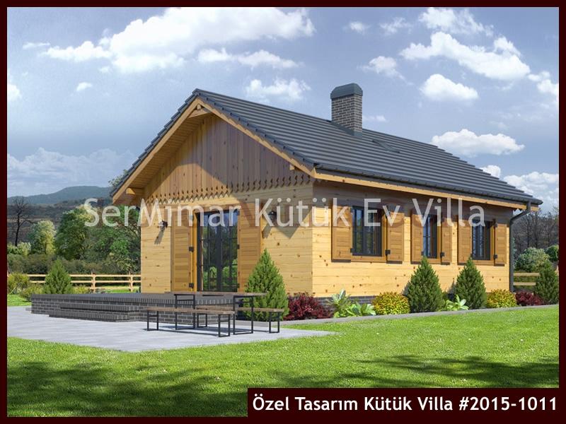 Özel Tasarım Kütük Villa #2015-1011