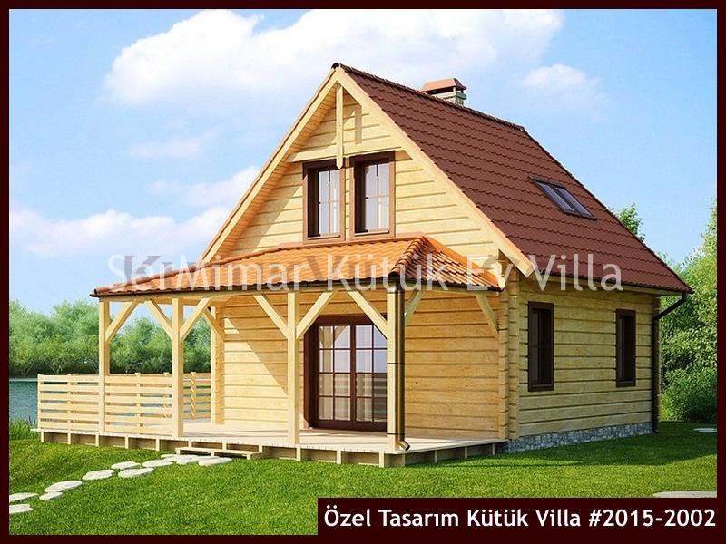 Özel Tasarım Kütük Villa #2015-2002