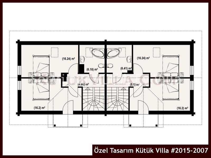 Özel Tasarım Kütük Villa #2015-2007