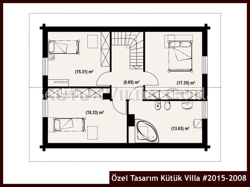 Özel Tasarım Kütük Villa #2015-2008