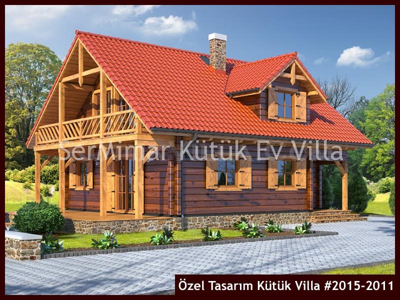 Özel Tasarım Kütük Villa #2015-2011