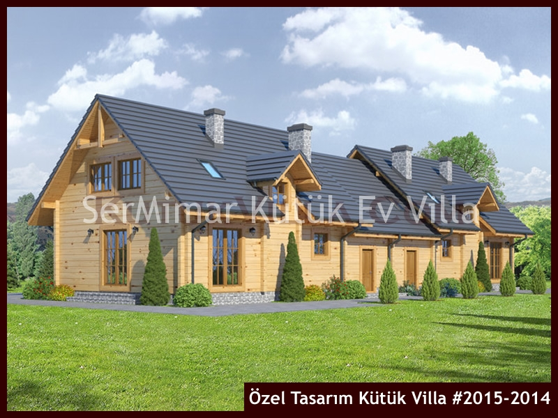 Özel Tasarım Kütük Villa #2015-2014