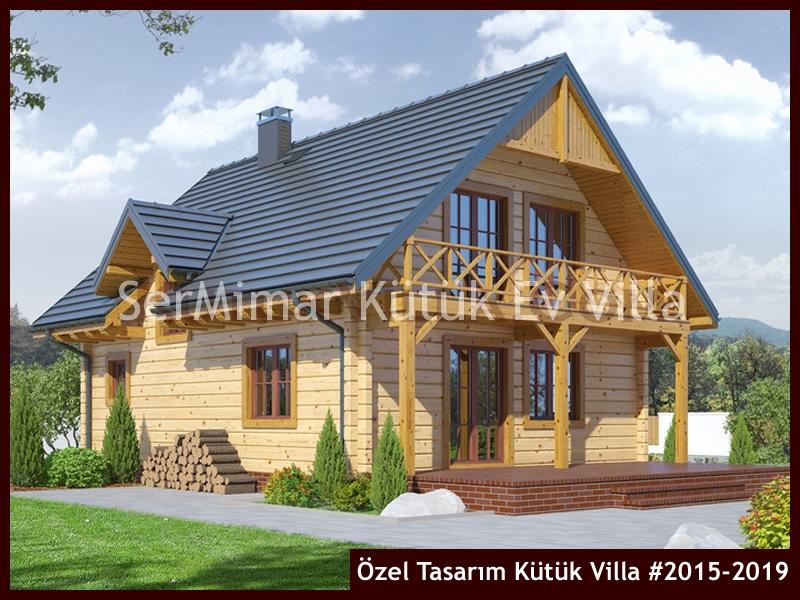 Özel Tasarım Kütük Villa #2015-2019