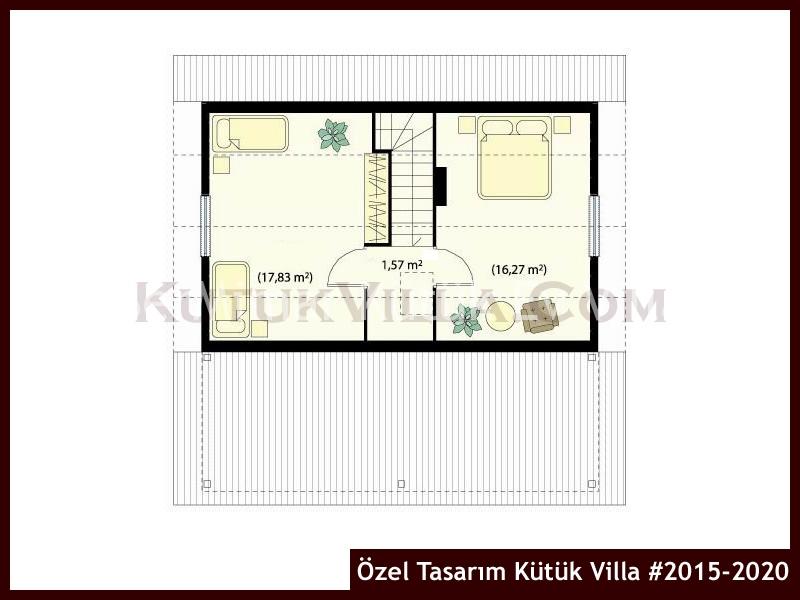 Özel Tasarım Kütük Villa #2015-2020