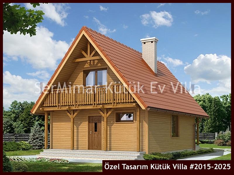 Özel Tasarım Kütük Villa #2015-2025