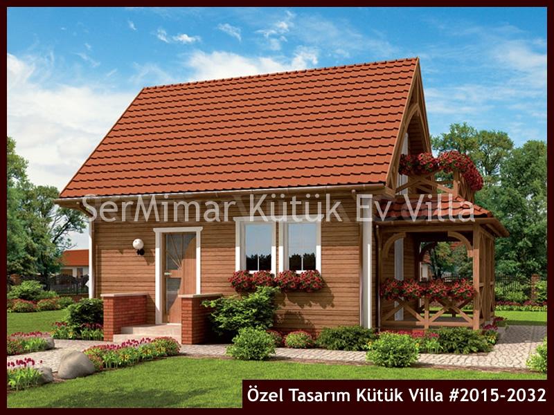 Özel Tasarım Kütük Villa #2015-2032