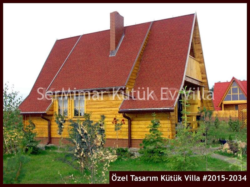 Özel Tasarım Kütük Villa #2015-2034